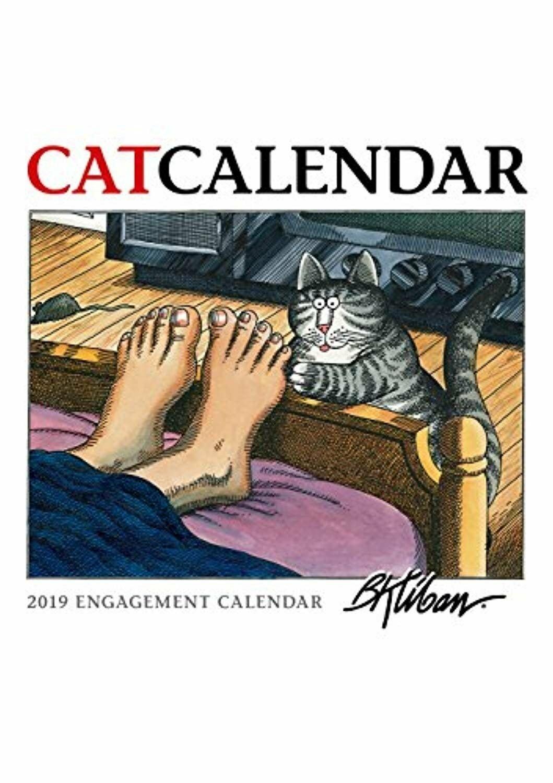 B. Kliban Catcalendar 2019 Engagement Calendar   Ebay B Kliban Cat Calendar 2019