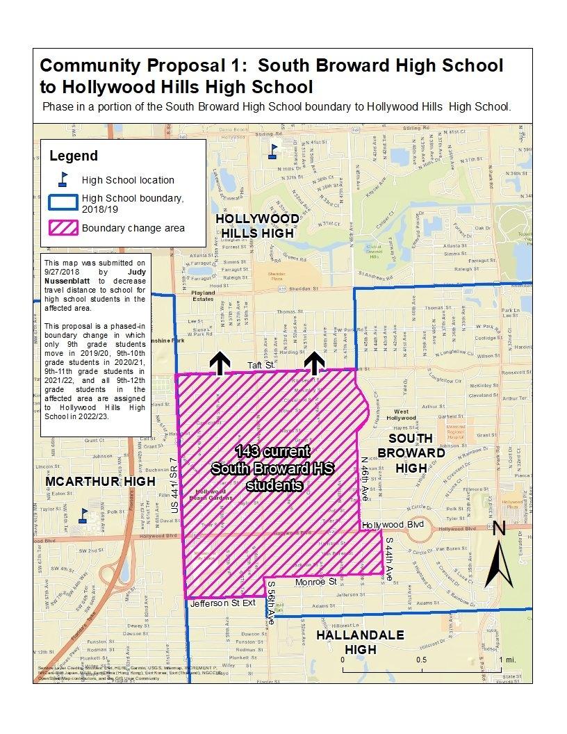 Boundary Process / 2019/20 Boundary Proposal C 1 School Calendar 2019 20 Broward