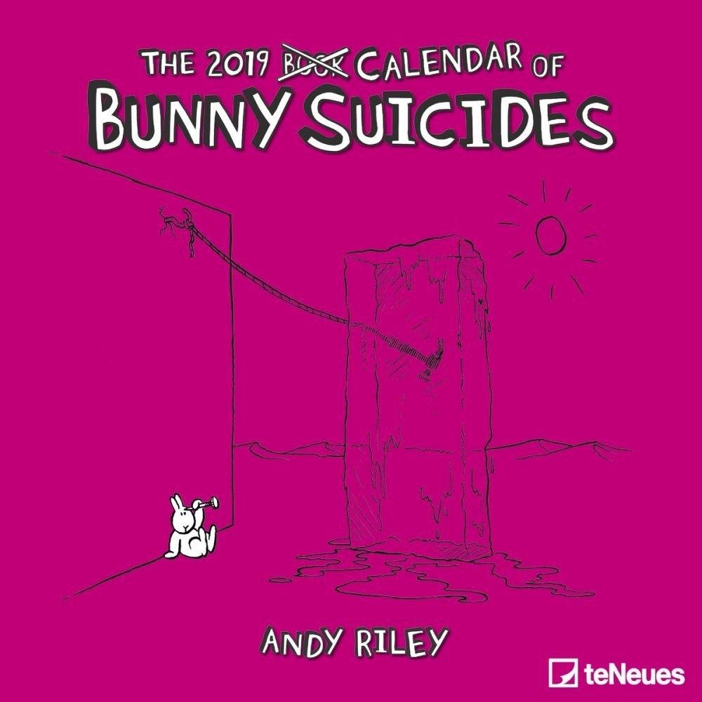 Bunny Suicides Wall Calendar Calendars Books & Gifts Studs N Spurs Calendar 2019