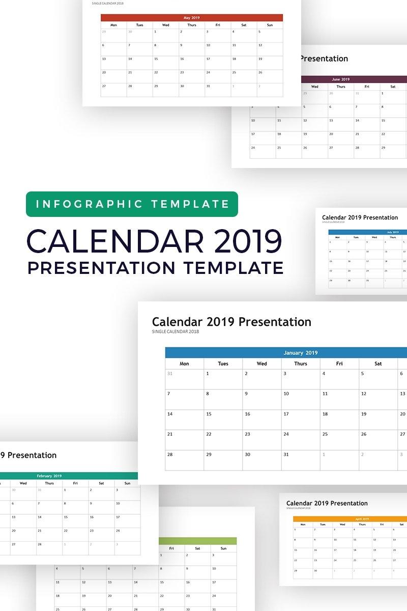 Calendar 2019 – Infographic Powerpoint Template #74264 Calendar Zoom 2019