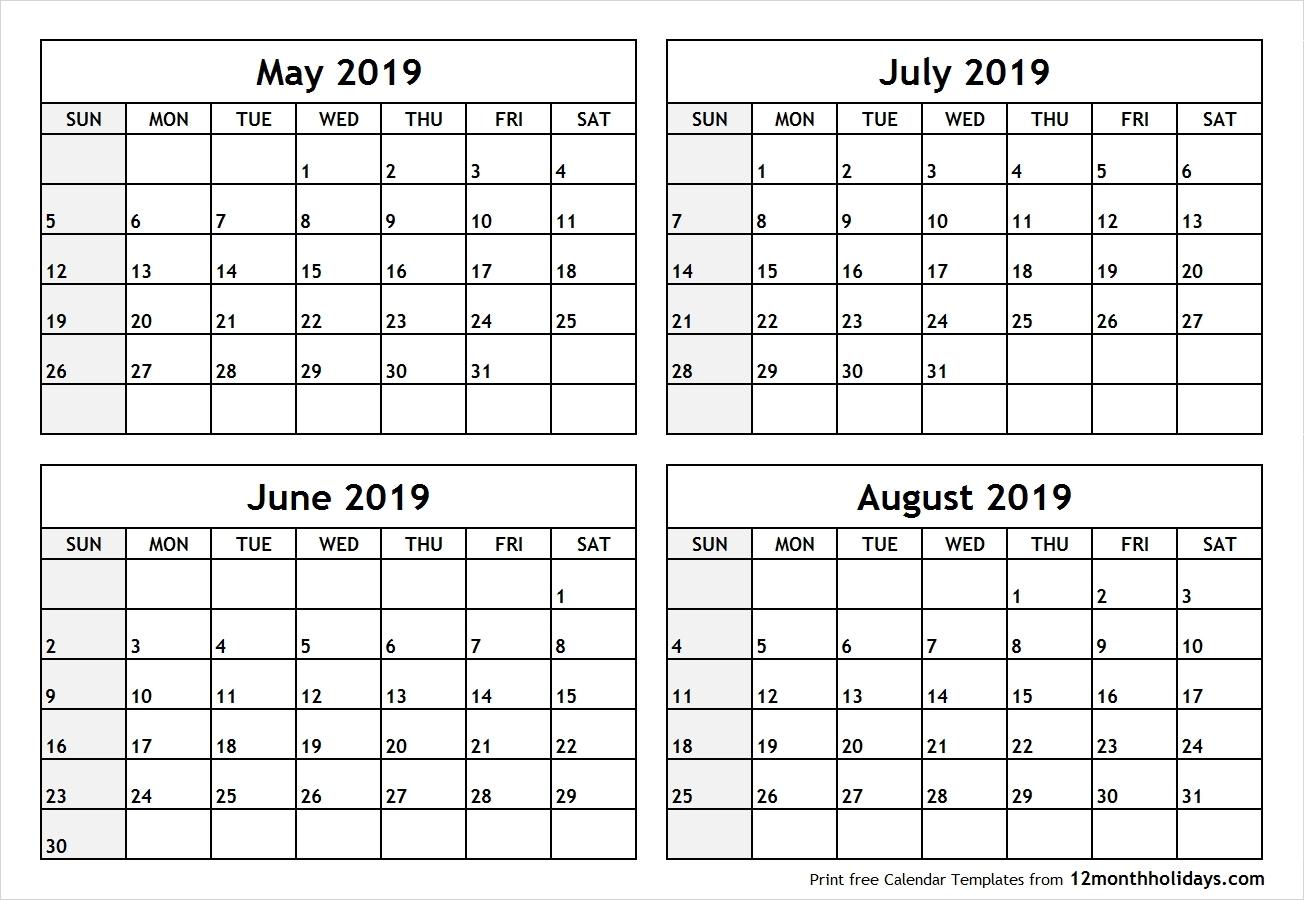 Calendar 2019 May June July   Template Calendar Printable Calendar 2019 May June