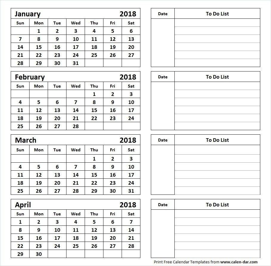 Calendar 4 Months Per Page | 2019 Calendar 4 Months Per Page 85 24 2019 Calendar 4 Months Per Page