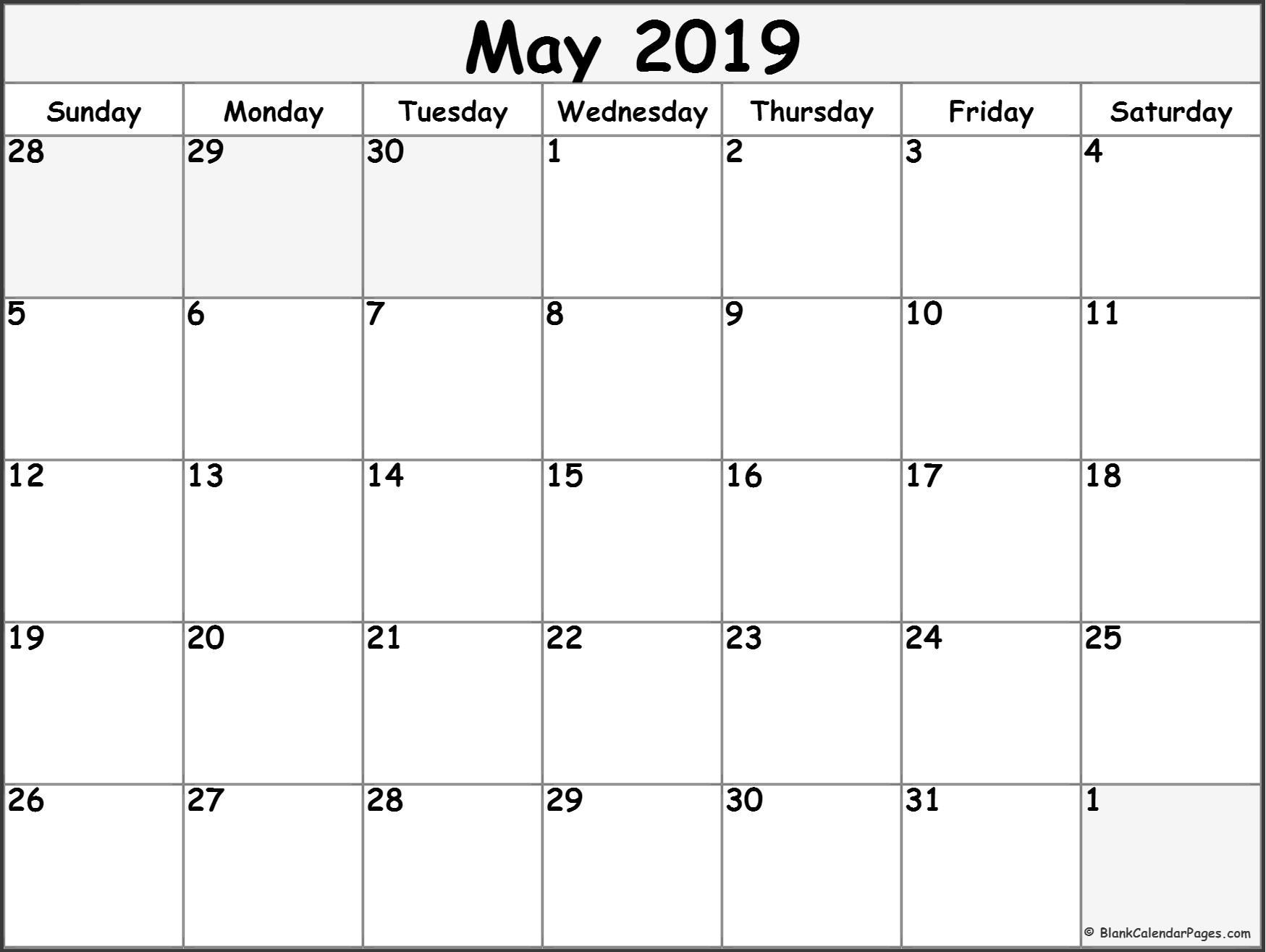 Calendar May 2019 6   Stln May 6 2019 Calendar
