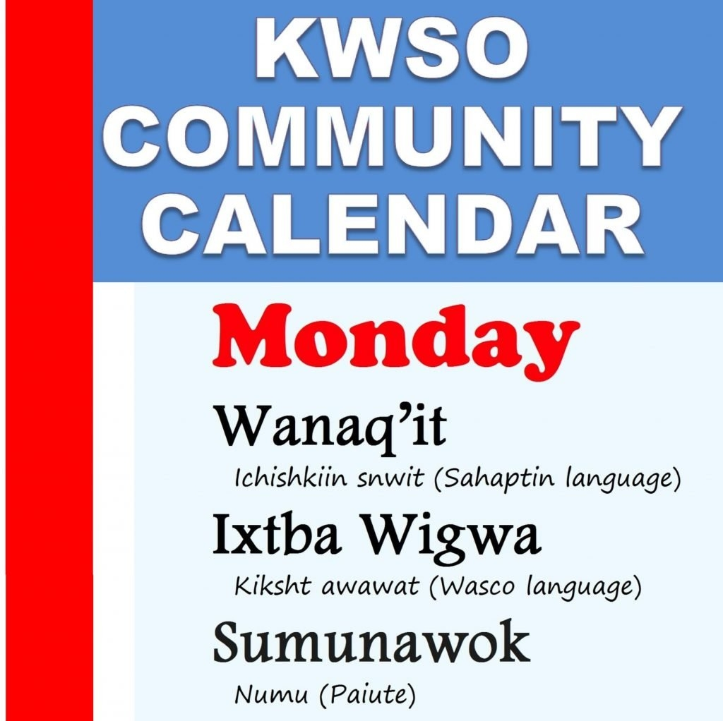Calendar Mon., Feb. 11, 2019 – Kwso 91.9 509J Calendar 2019