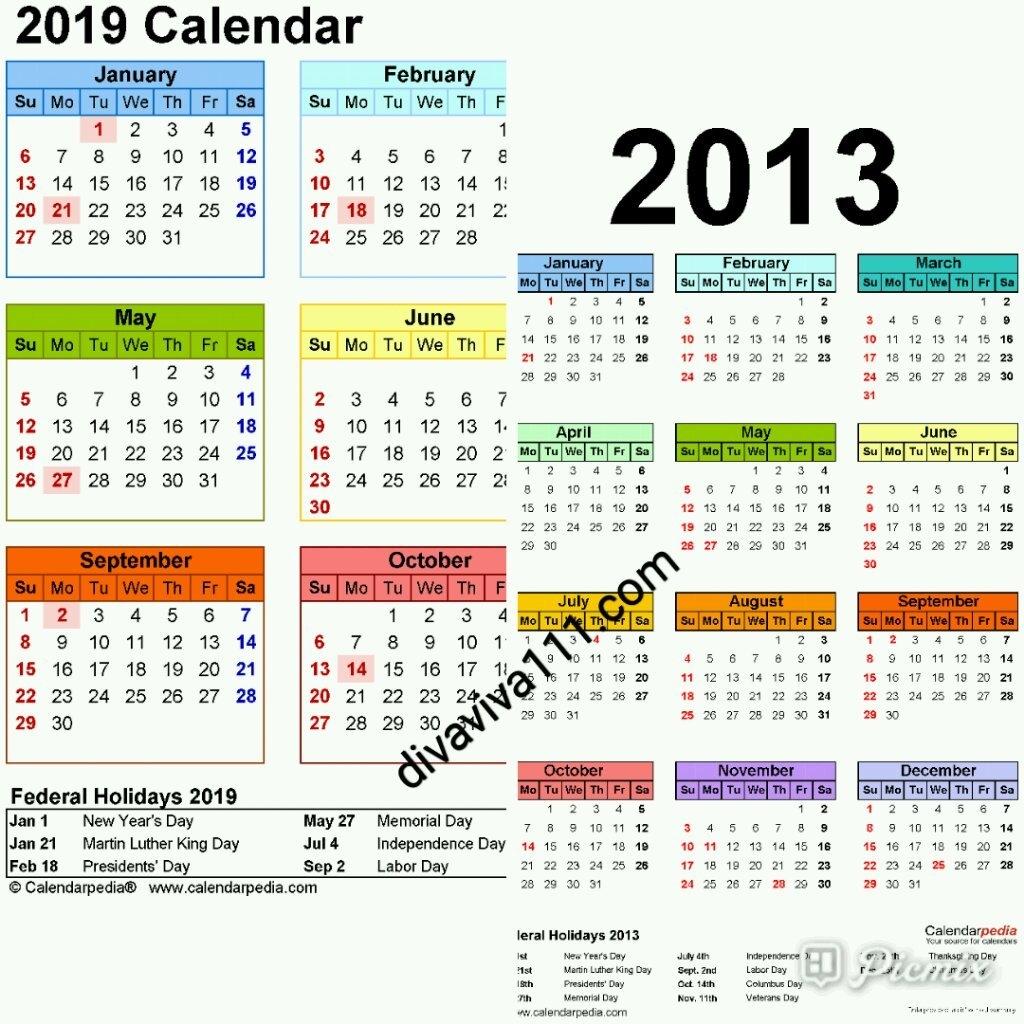 Calendar Year Same As 2019 – Swifte Calendar 2019 Same As