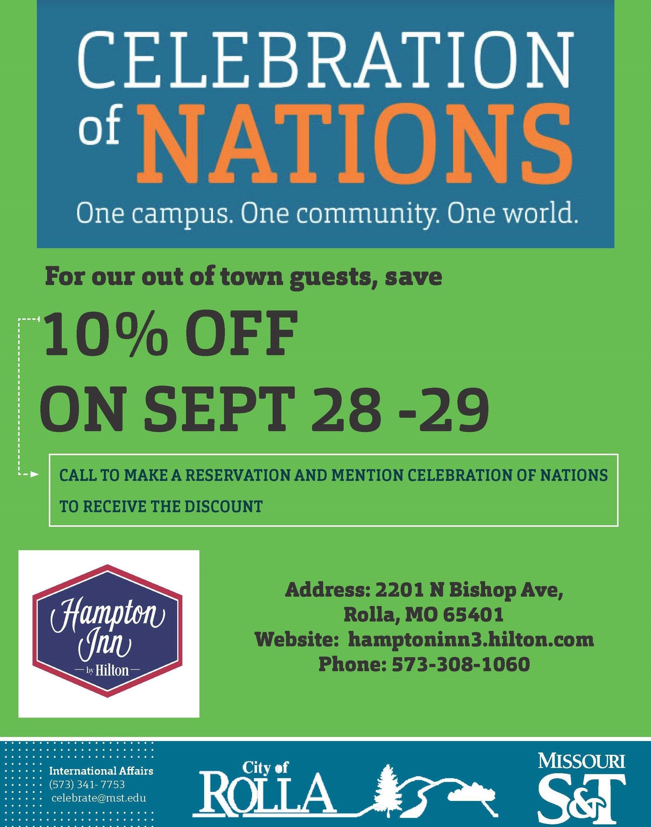 Celebration Of Nations – Celebration Of Nations | Missouri S&t Missouri S&t Calendar 2019