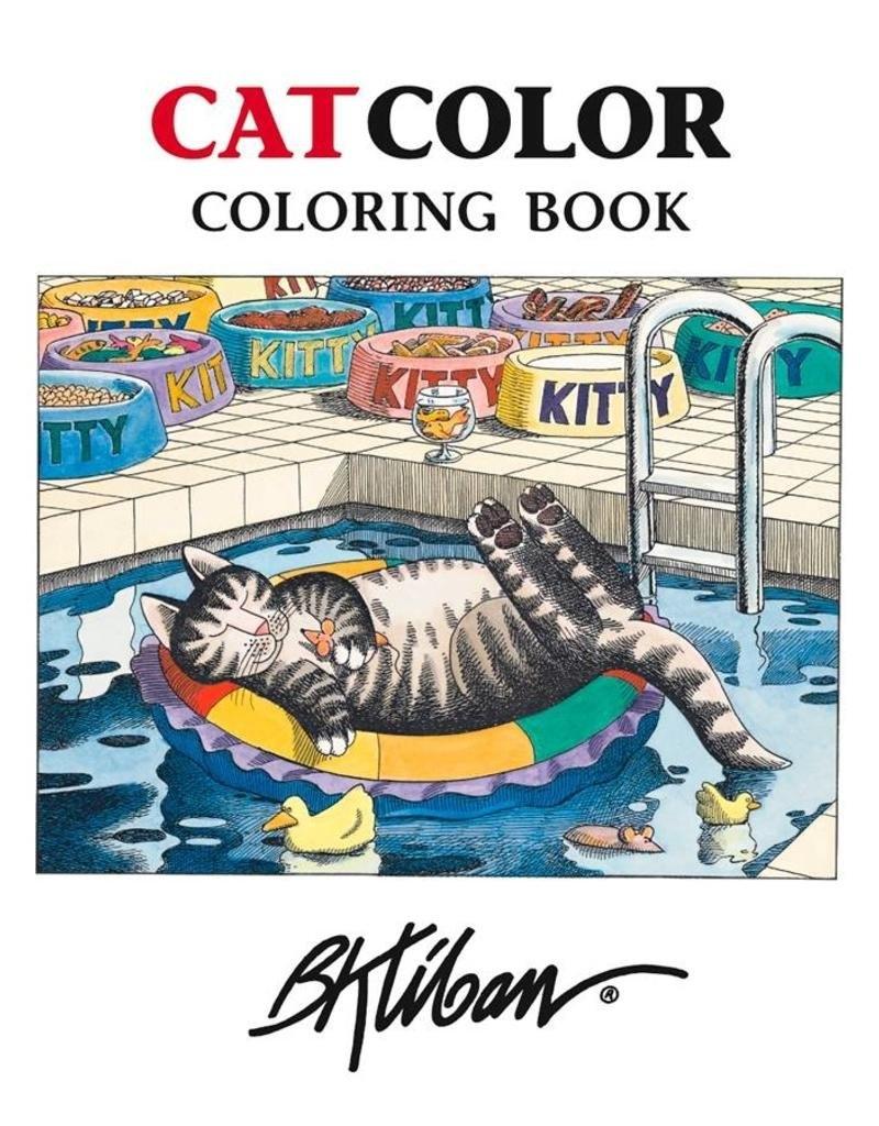 Coloring Book Kliban/cat M/12 – Elysian Fields B Kliban Cat Calendar 2019