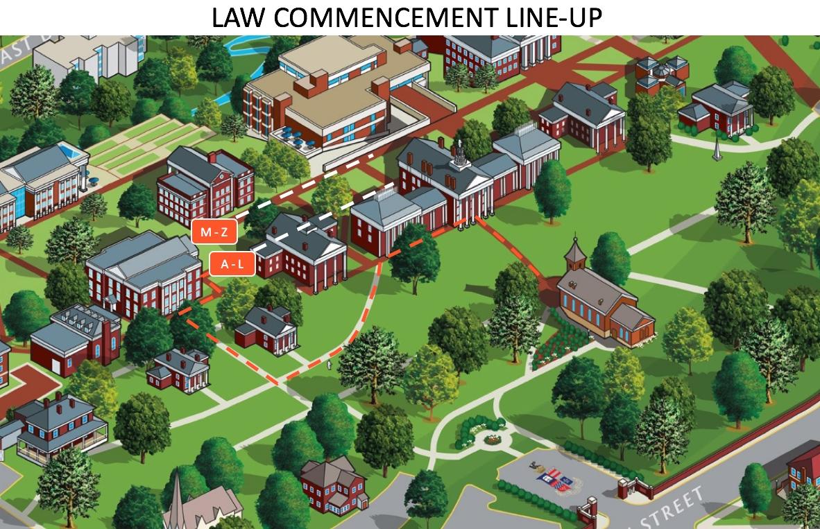 Commencement Procession Line Up Instructions : Washington And Lee W&l Calendar 2019
