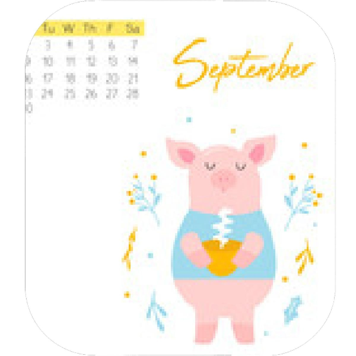 Designs – Mein Mousepad Design – Mousepad Selbst Designen Calendar 2019 Year Of The Pig