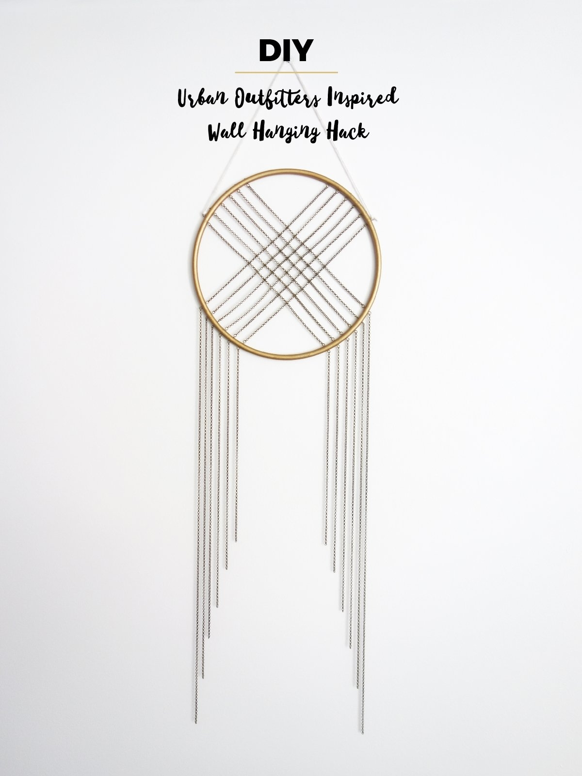 Diy – Urban Outfitters Inspired Wall Hanging Hack | Adorablest Calendar 2019 Urban Outfitters