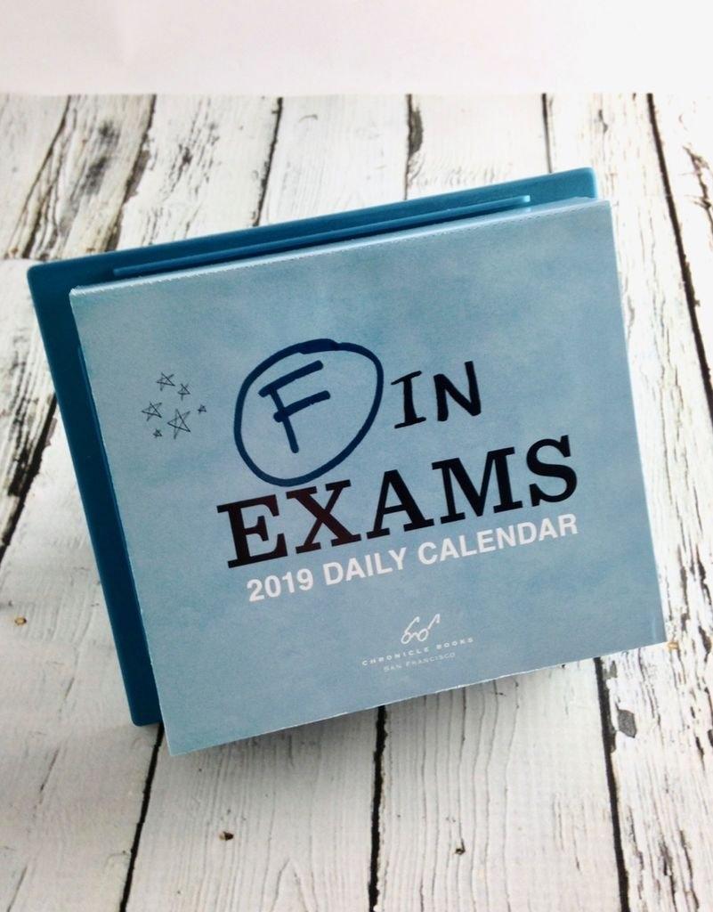 F In Exams 2019 Daily Calendar – Silver In The City F In Exams 2019 Calendar