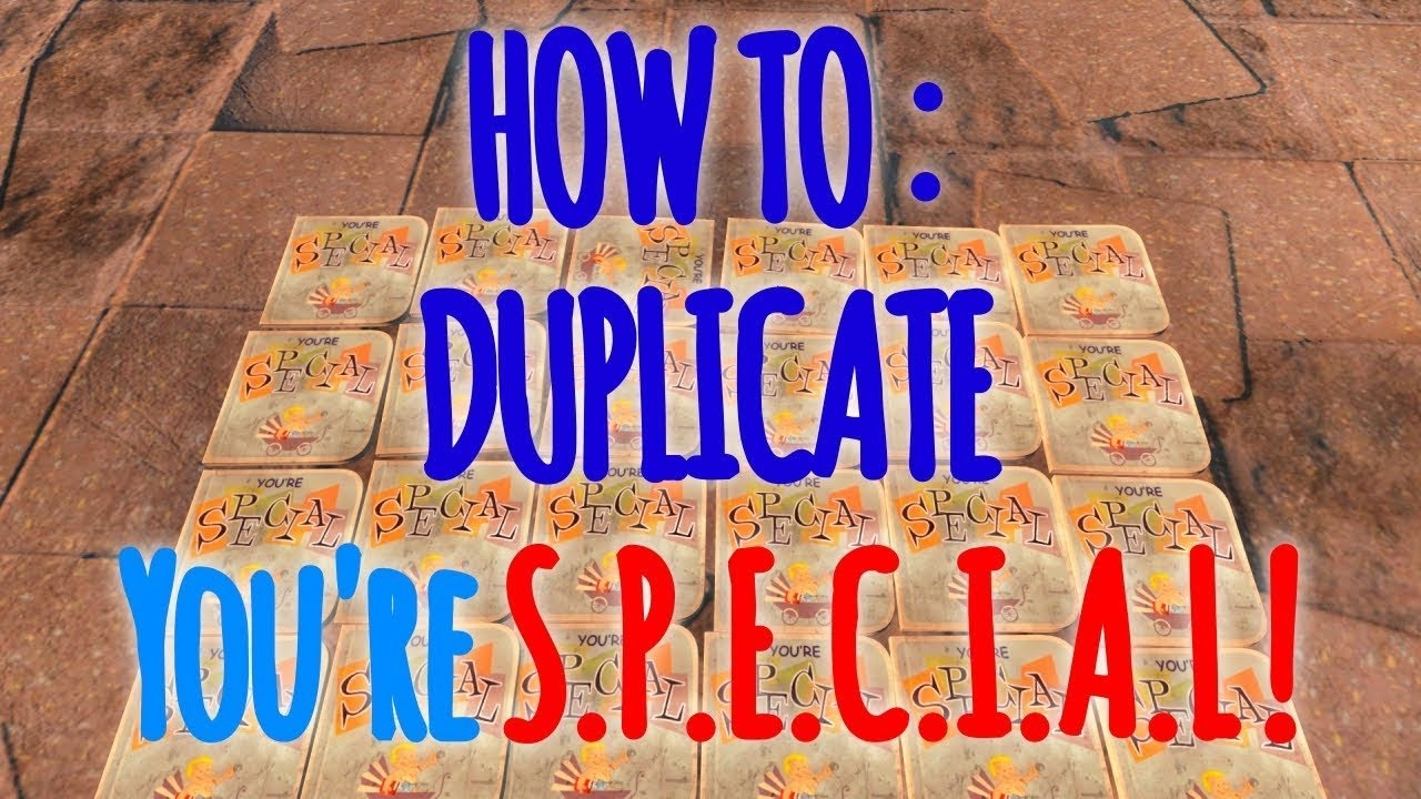 Fallout 4 – You're Special Duplication Glitch! / Works *jan* 2019 Fallout 4 Calendar 2019