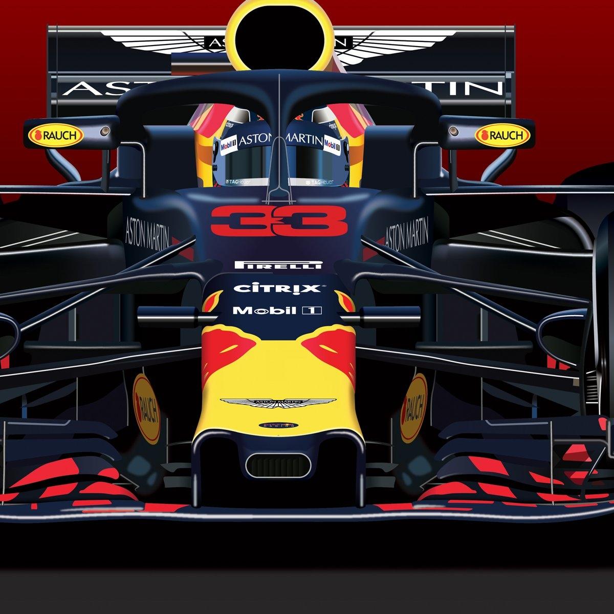 Formula 1 2019 Poster Calendar – Max Verstappen – The Gpbox Formula 1 Calendar 2019