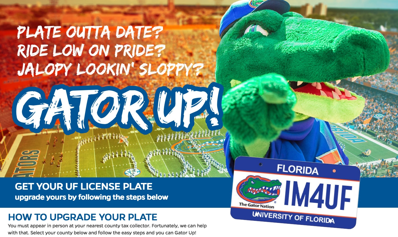 Gator Up! Uf Plates Available At Our Office! – Alachua County Tax Calendar 2019 Uf