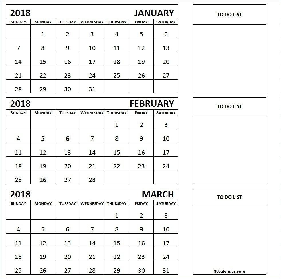 Get 2019 3 Month Calendar Templates Download | August 2018 Calendar 3 Month Calendar 2019 Printable