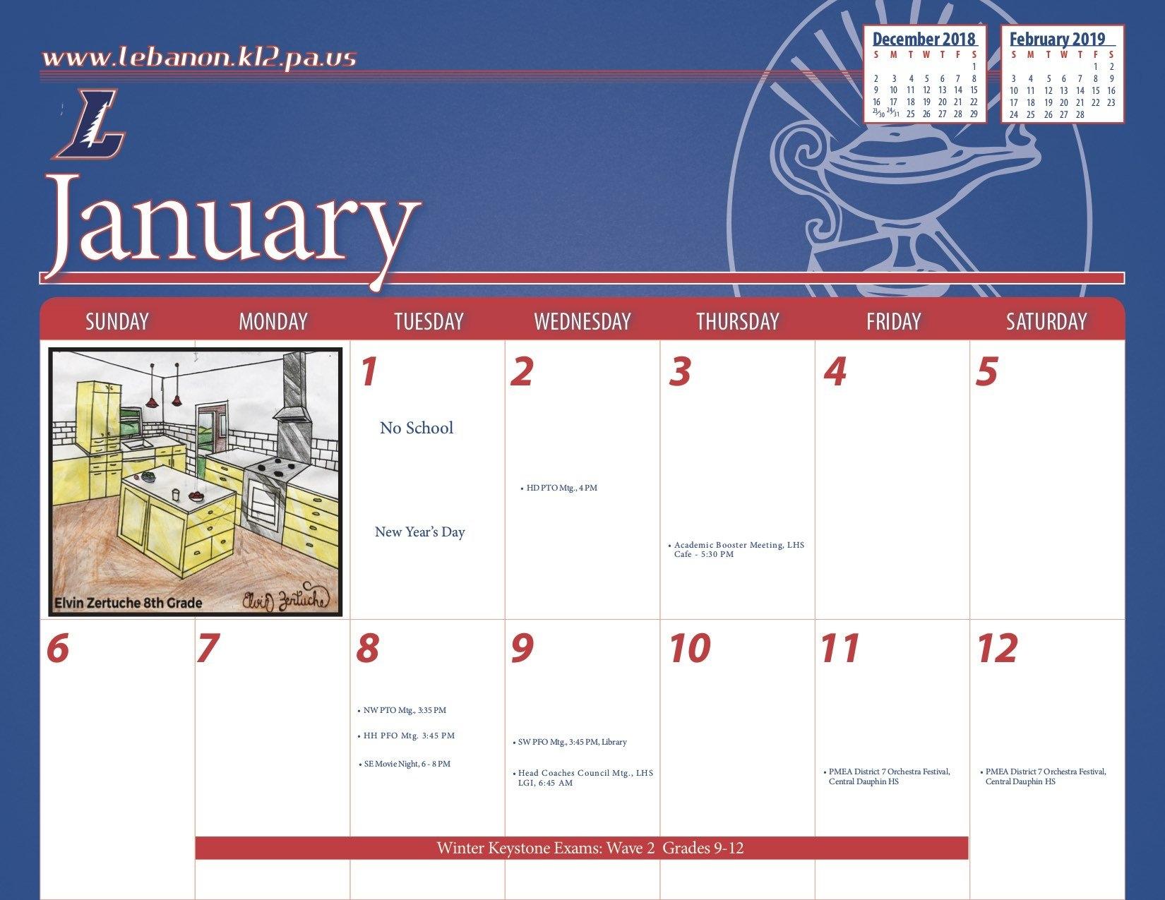Index Of /wp Content/uploads/2018/07 J 2019 Calendar