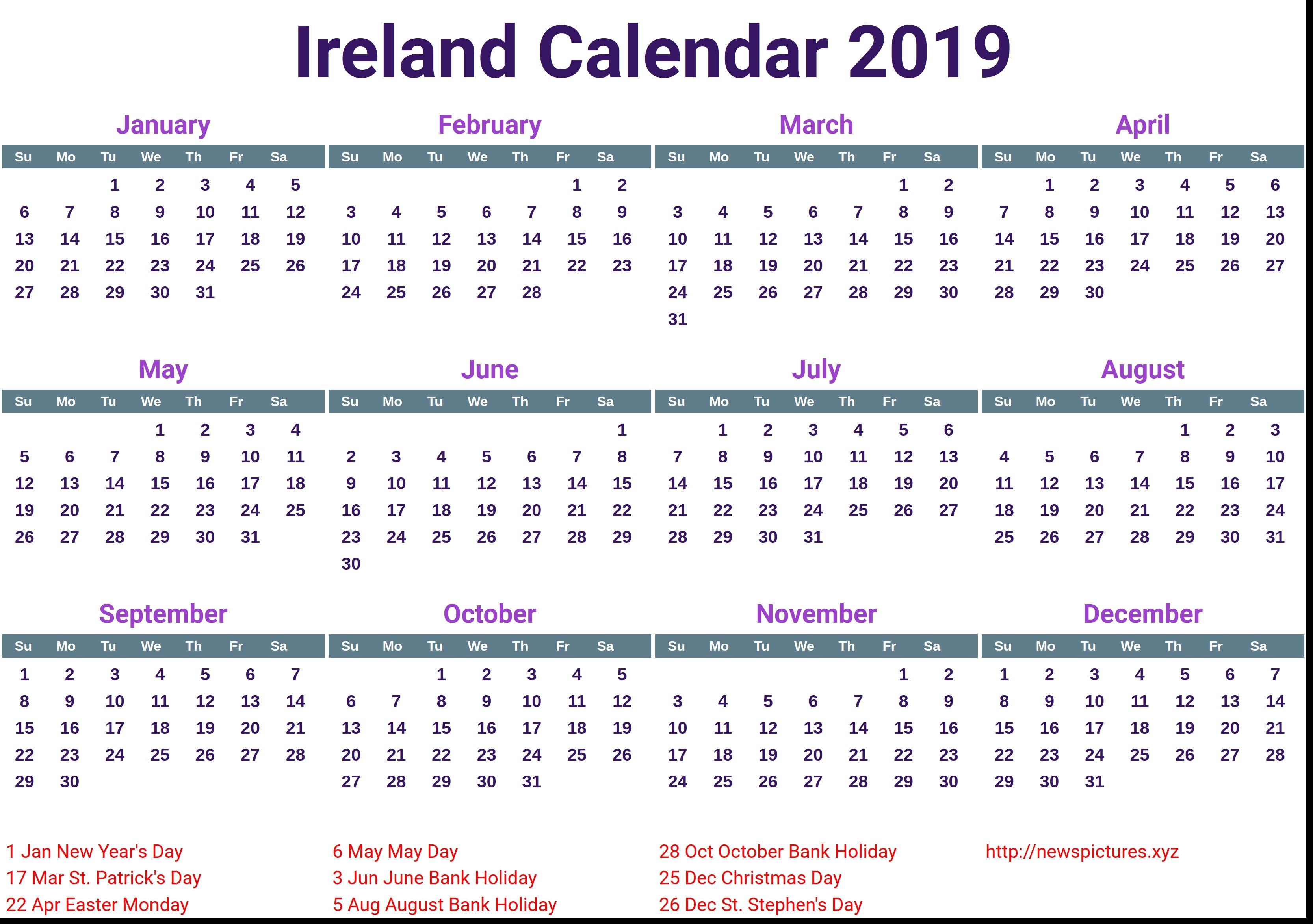 Information Regarding 2019 Calendar Singapore Pdf – Calendar Online 2019 Calendar 2019 Ireland