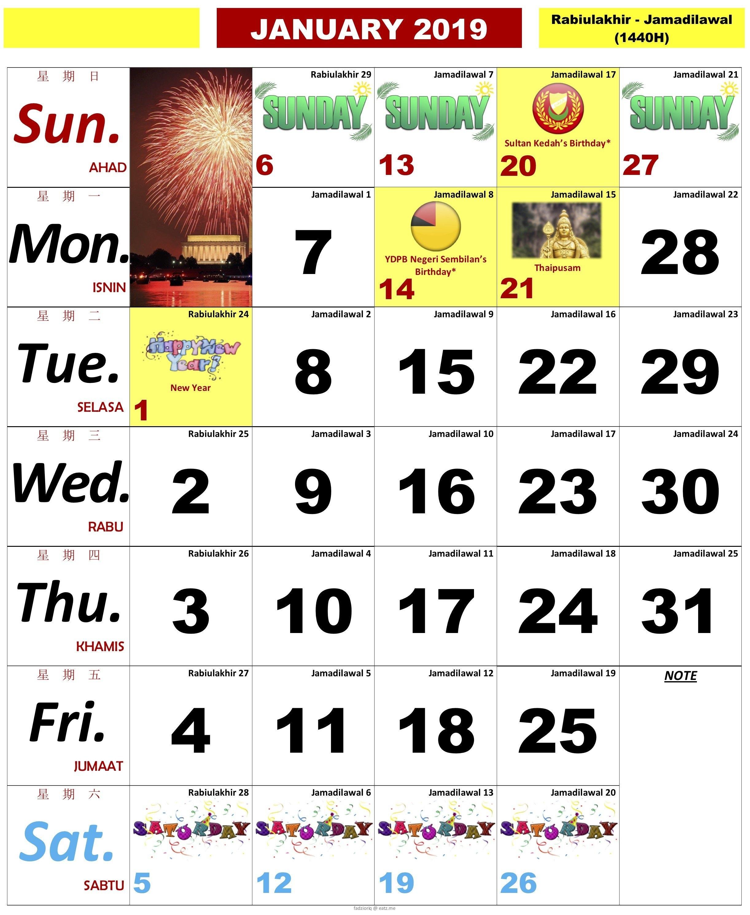 Information Regarding Kalendar Kuda 2019 Malaysia Pdf – Calendar Calendar 2019 Kuda Pdf