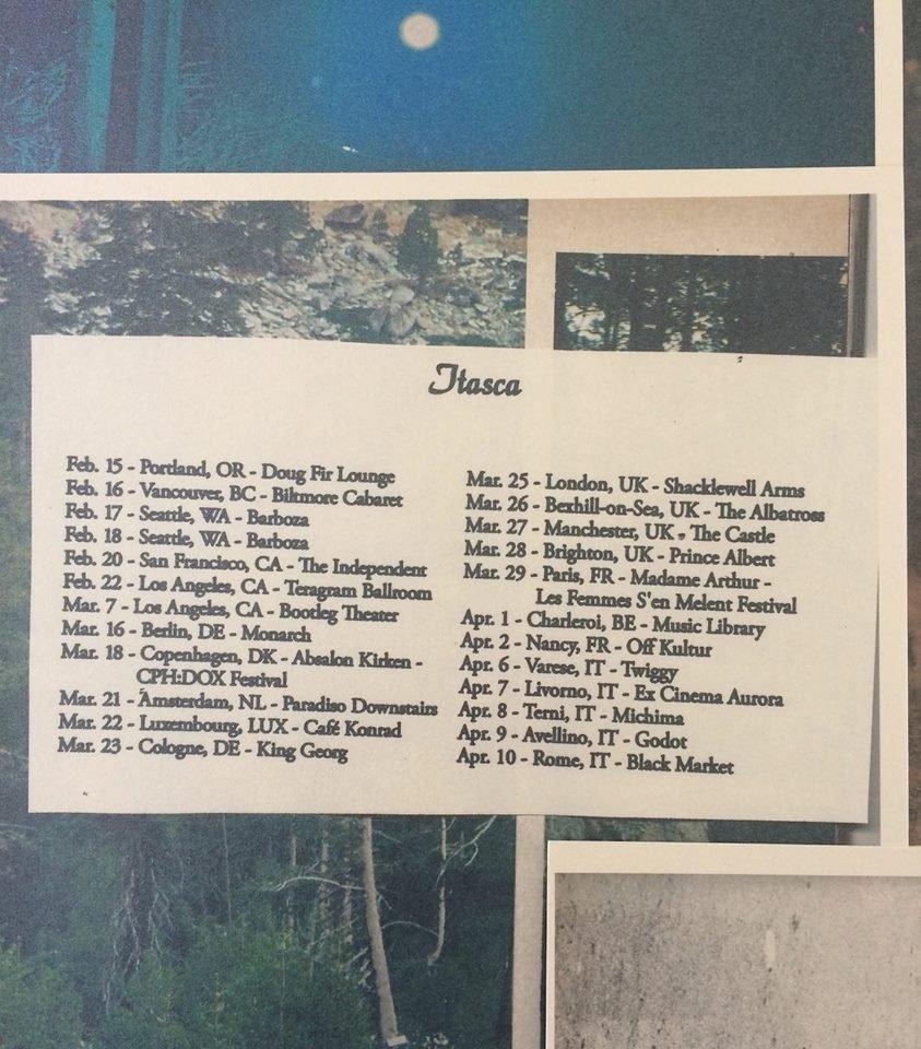 Itasca Embarks On Uk/eu Tour. | Paradise Of Bachelors M Harding Roberts Calendar 2019