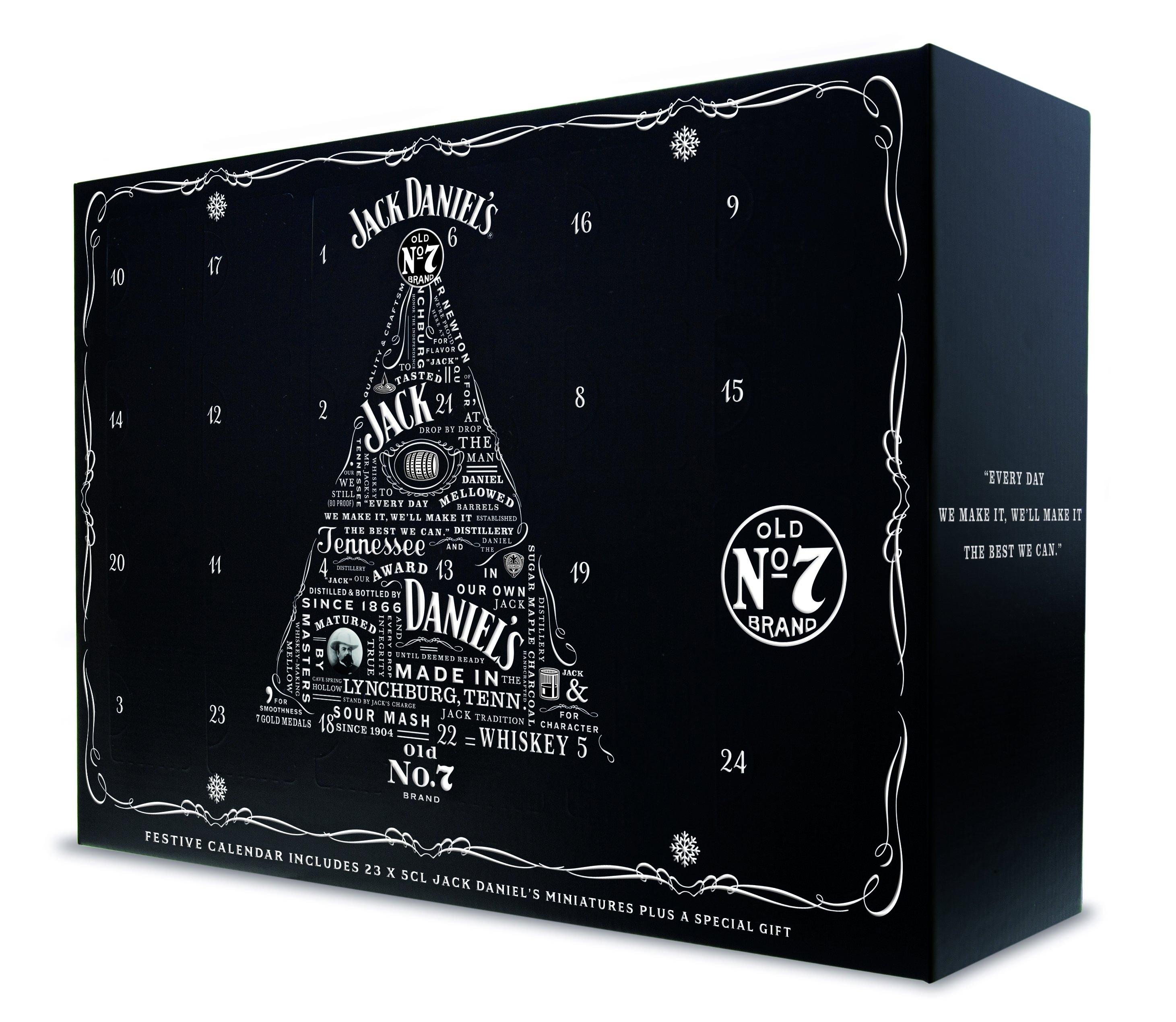 Jack Daniel's Festive Whiskey Calendar   The Jack Store No 7 Advent Calendar 2019