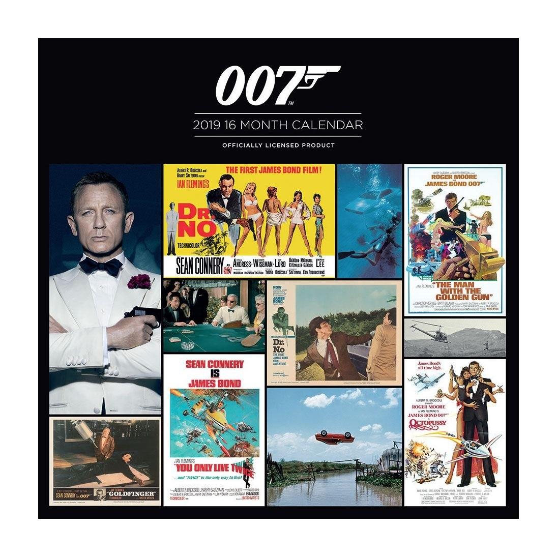 James Bond Calendar 2019 – Herocity 007 Calendar 2019