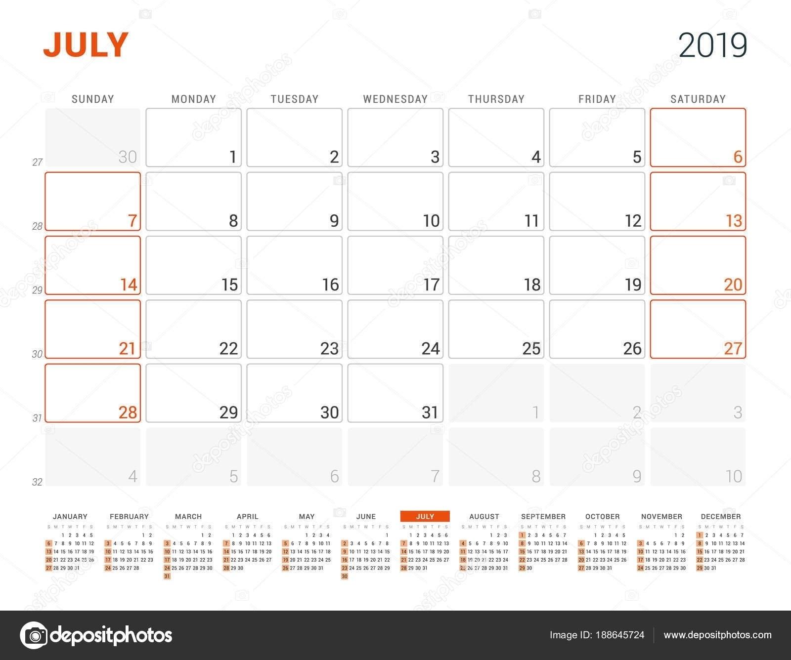 July 3 2019 Calendar   Ten Free Printable Calendar 2019 2020 3/2019 Calendar