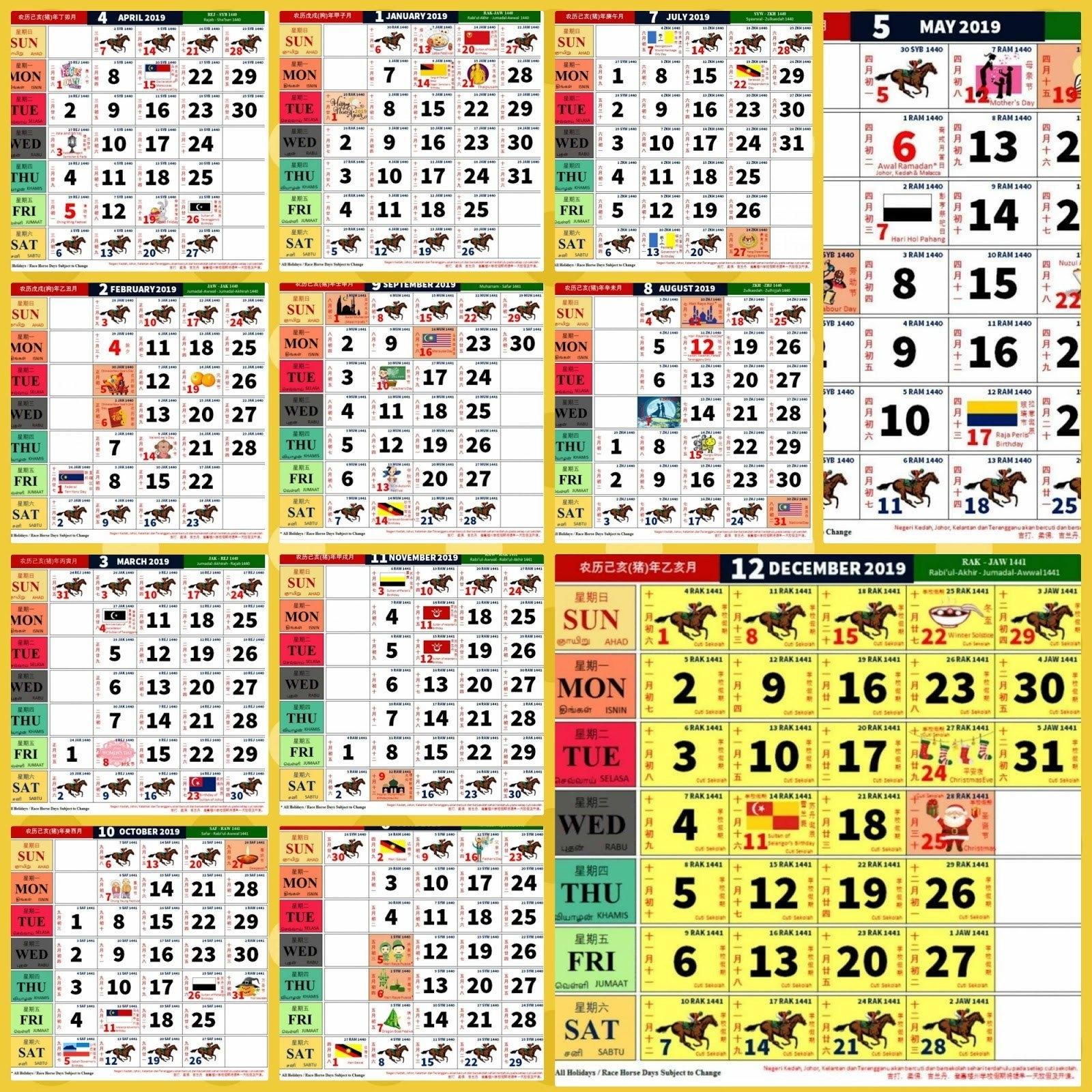 Kalendar Kuda 2018 Malaysia Pdf Download     Vinny.oleo Vegetal Calendar 2019 Kuda Pdf
