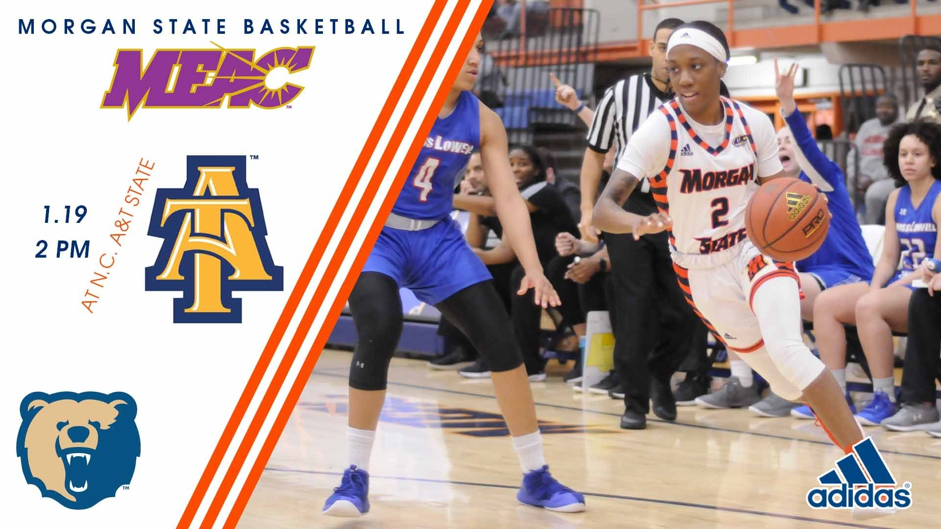 Lady Bears Face Defending Meac Champion N.c. A&t On Saturday A&t Academic Calendar 2019