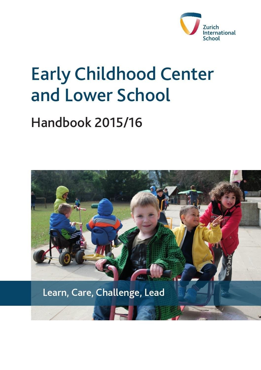 Lower School & Ecc Handbookzurich International School – Issuu Zis Calendar 2019