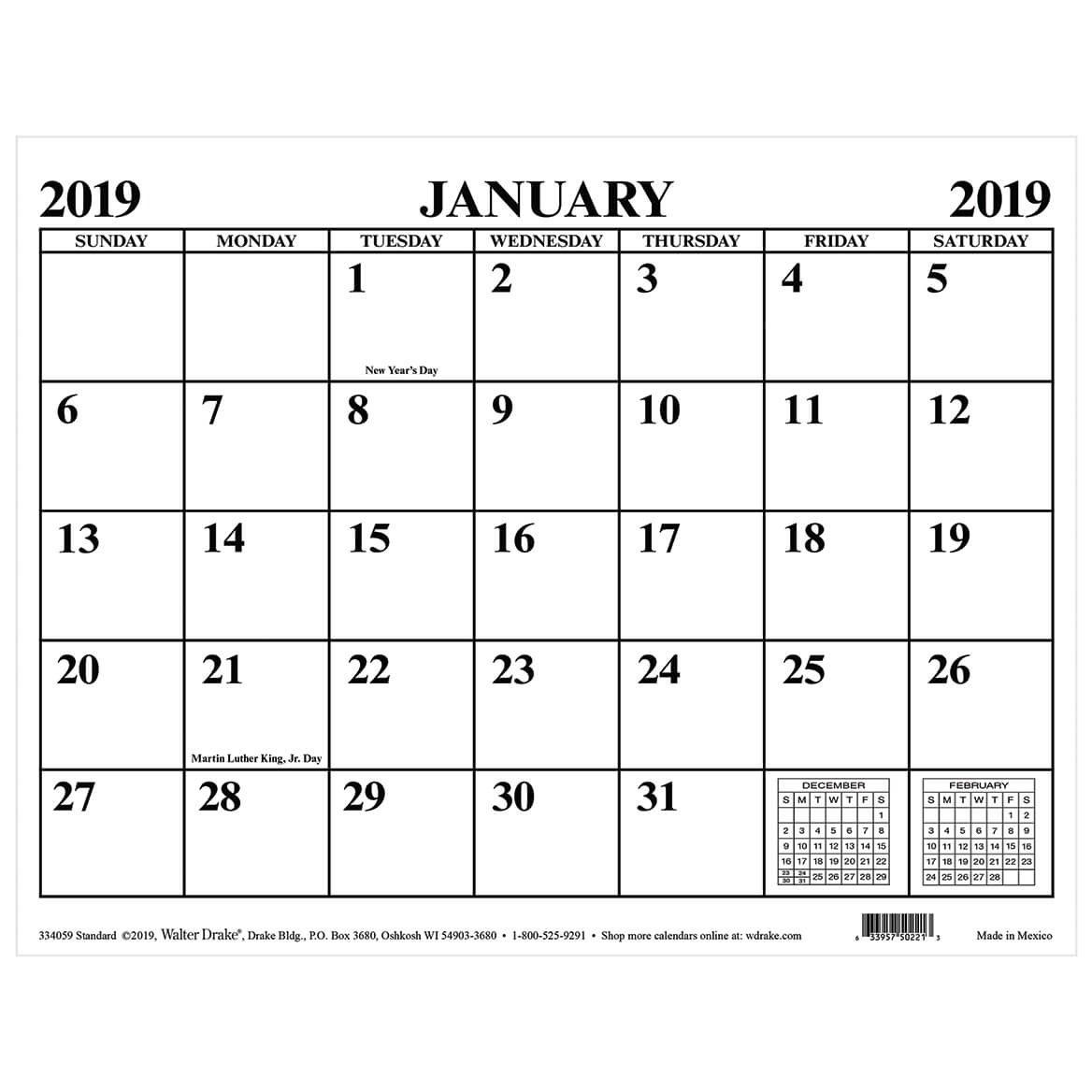 Magnetic Calendar – Monthly Magnetic Calendar – Walter Drake Calendar 2019 Magnet