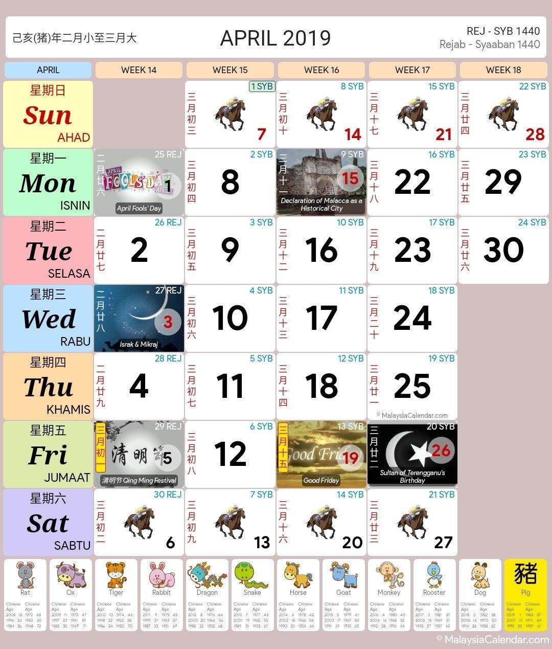 Malaysia Calendar Year 2019 (School Holiday) – Malaysia Calendar Calendar Year 2019 Malaysia