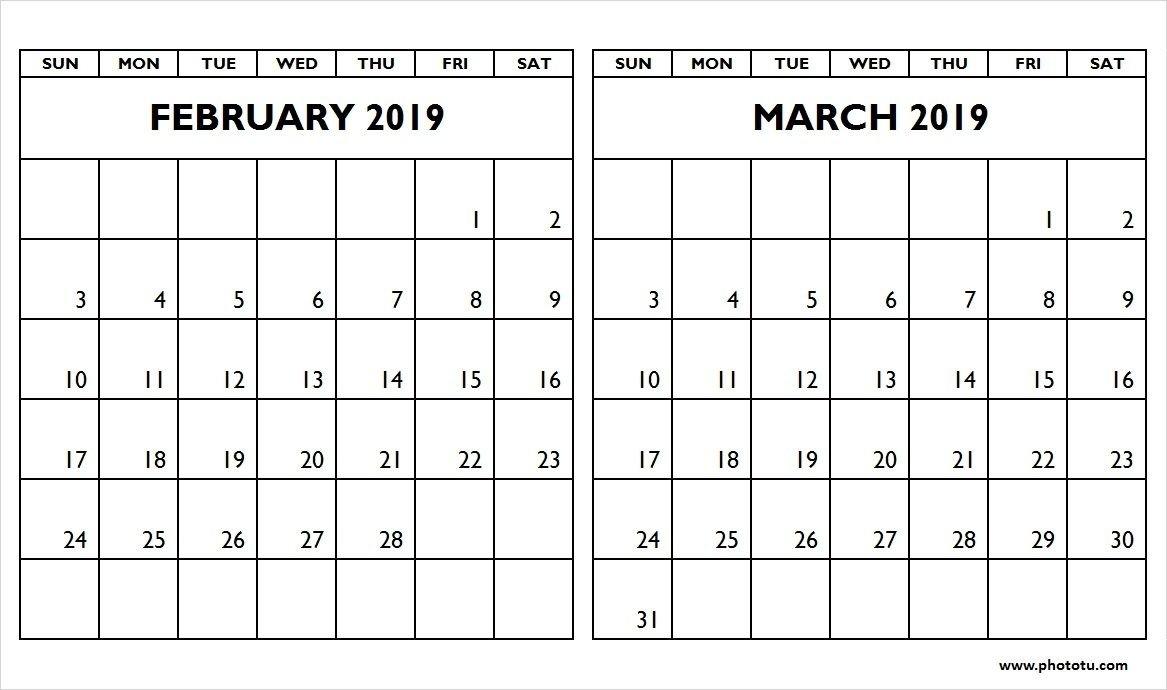 March 2 2019 Calendar | Calendar Format Example March 2 2019 Calendar