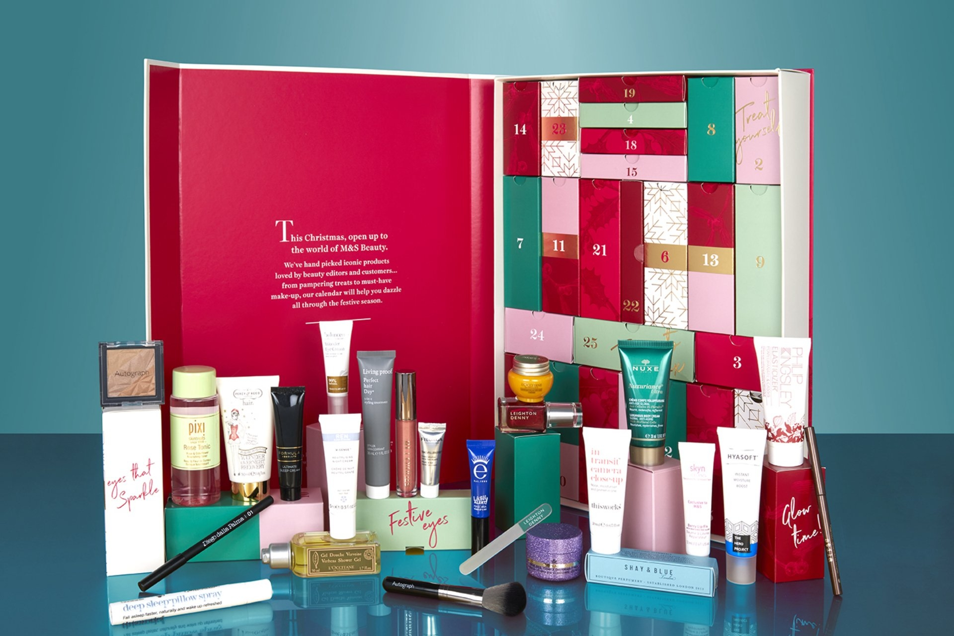 Marks And Spencer's Famous Beauty Advent Calendar Is Back For 2018 M&s Beauty Advent Calendar 2019