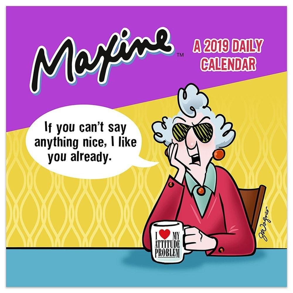 Maxine 2019 Desk Calendar Calendars Books & Gifts – Foodsniffr Store Studs N Spurs Calendar 2019