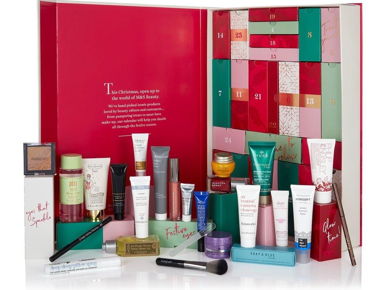 M&s Beauty Advent Calendar 2018 – Full Contents & Launch Info M&s Calendar 2019