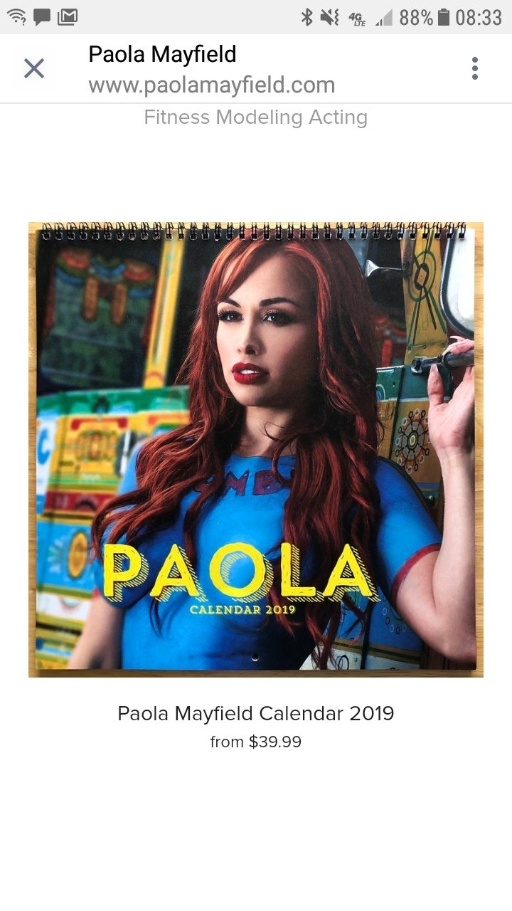 Pao's Calendar Is $40! You Can Just Follow Her Insta For Free To See X Calendar 2019 Models
