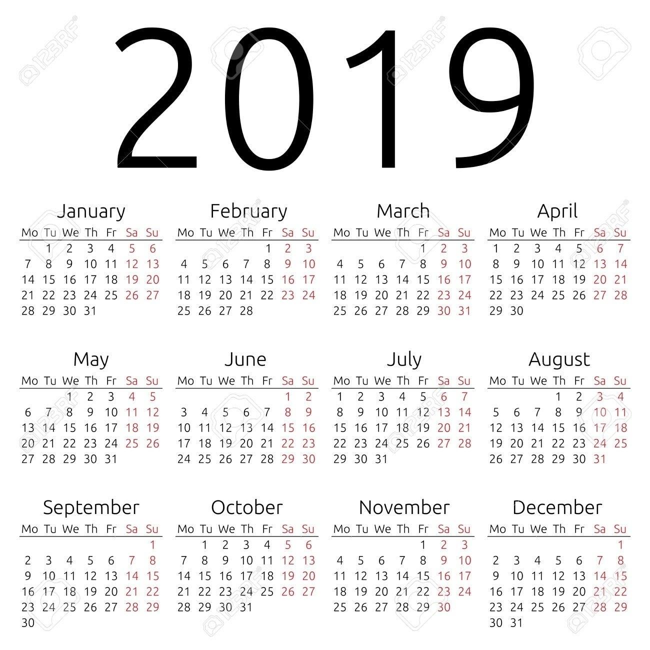 Printable Calendar 2019 Hong Kong | Printable Calendar 2019 Calendar 2019 Excel Hong Kong