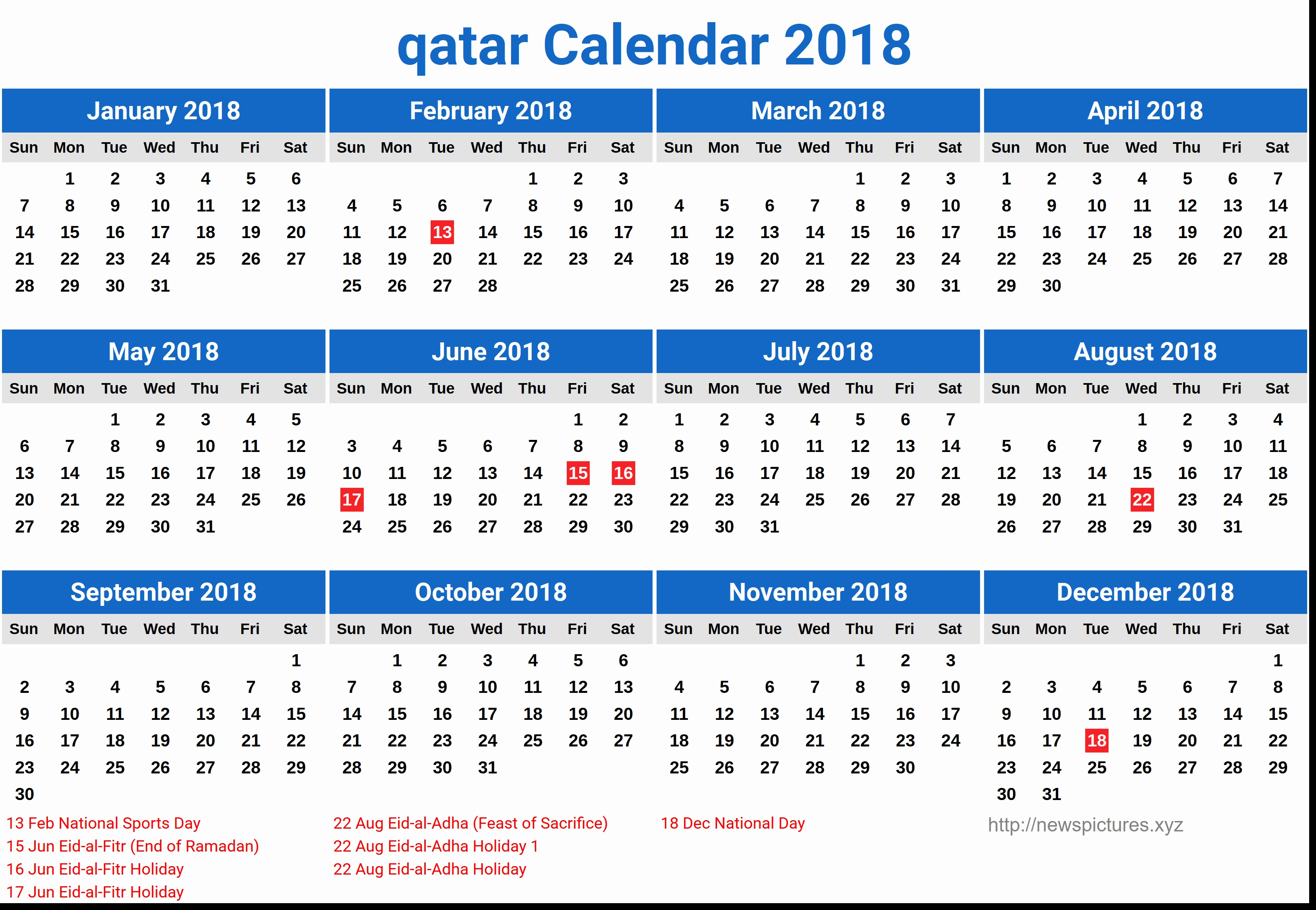 Qatar Calendar 2019 With Hong Kong Free 2018 Printable   Seimado Calendar 2019 Hong Kong