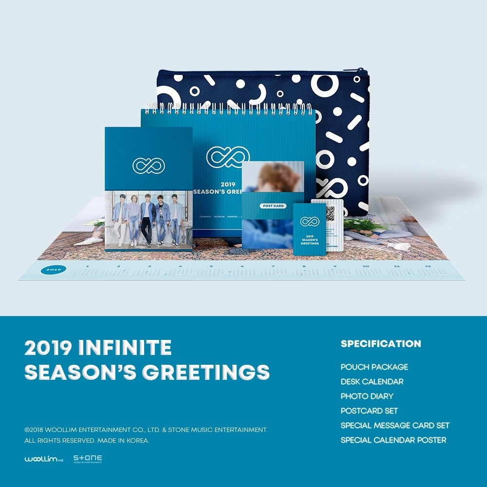 Qoo10 – 2019 Infinite Sg : Cd & Dvd Calendar 2019 Qoo10