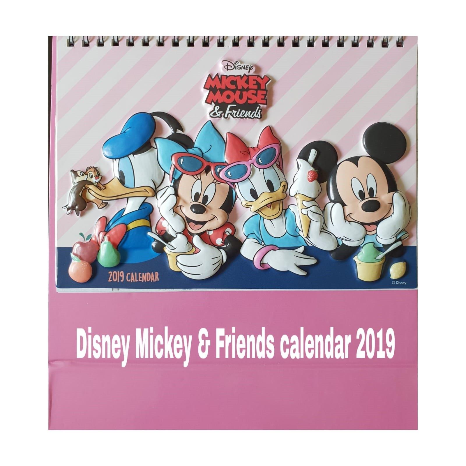 Qoo10 – Disney Calendar 2019 : Stationery & Supplies Calendar 2019 Qoo10