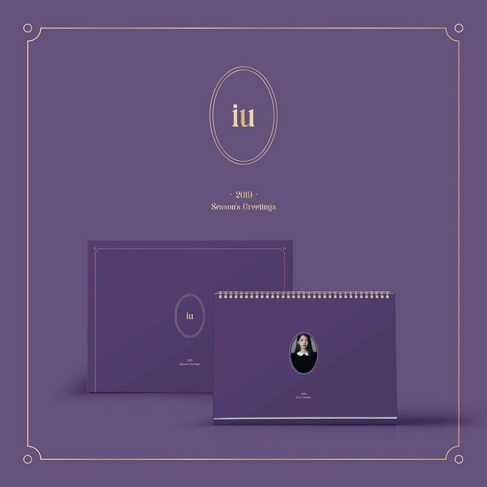Qoo10 – Iu 2019 Calendar : Cd & Dvd Calendar 2019 Qoo10