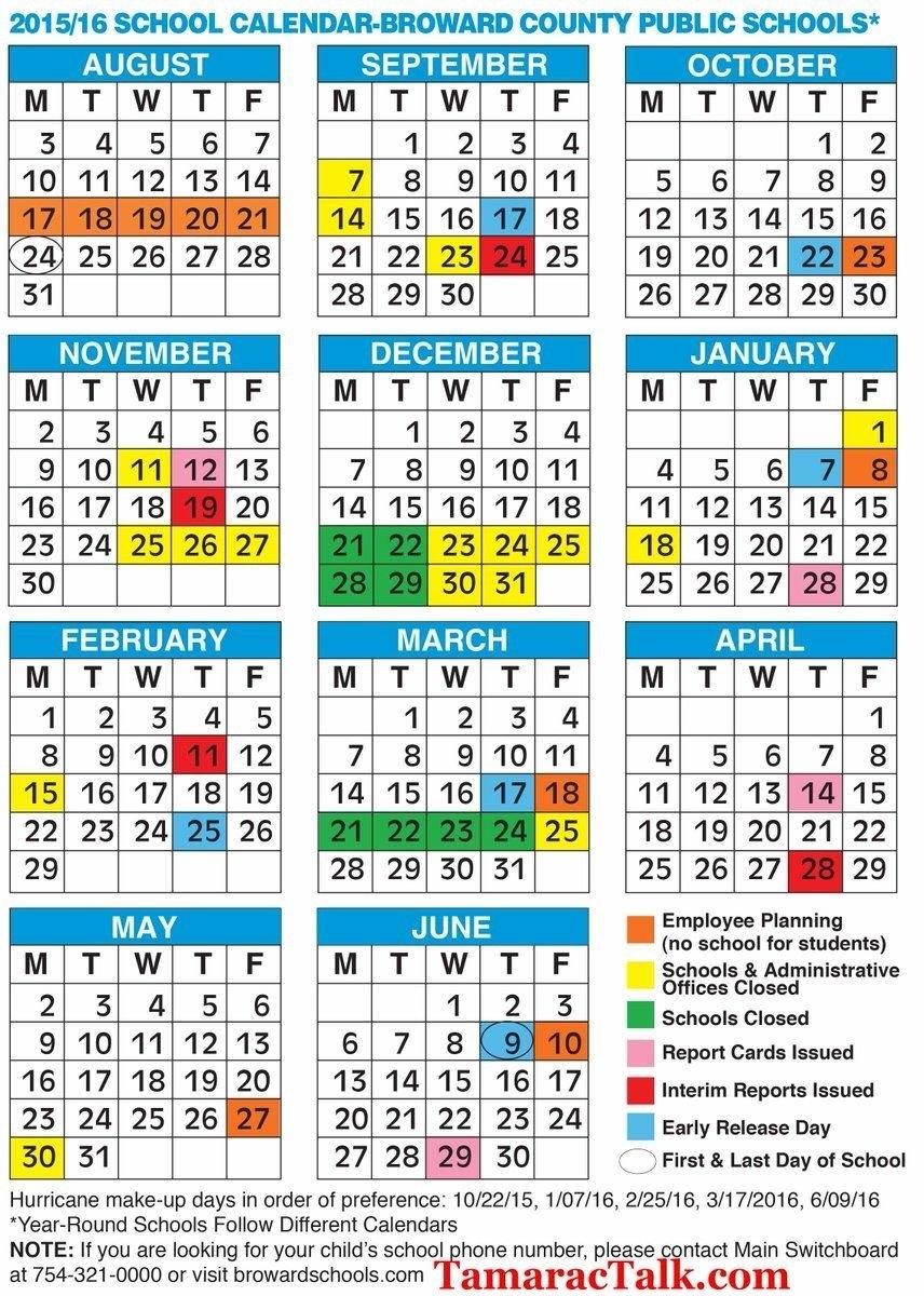 Spring Break Broward 2018 – Whitepear.store • School Calendar 2019 20 Broward