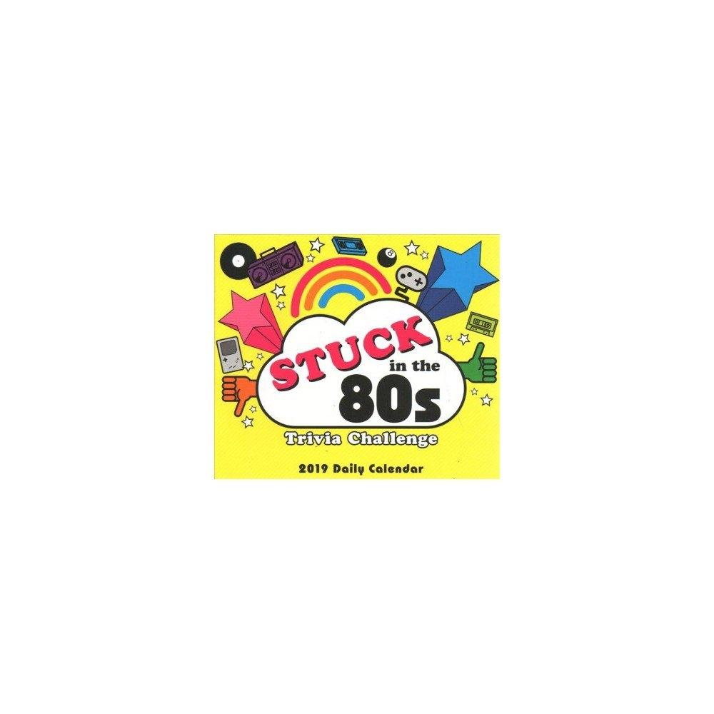 Stuck In The 80S Trivia Challenge 2019 Calendar  Myles Mellor 2019 Calendar 80S