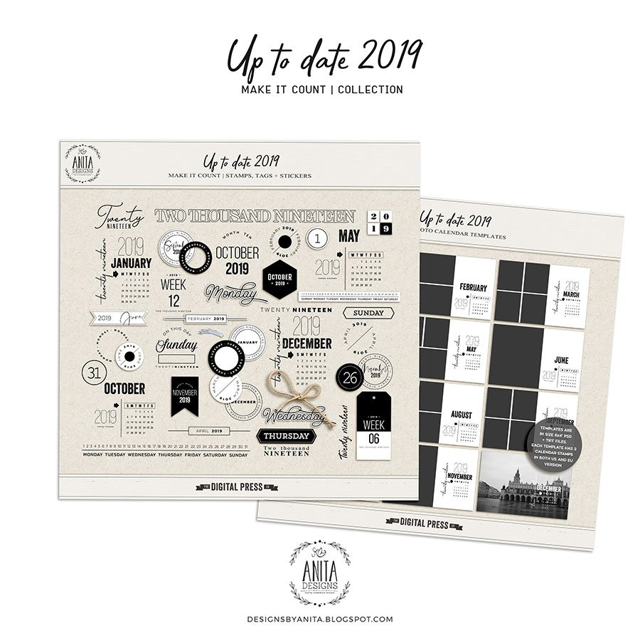 Up To Date 2019 | Collection Calendar 2019 Bu