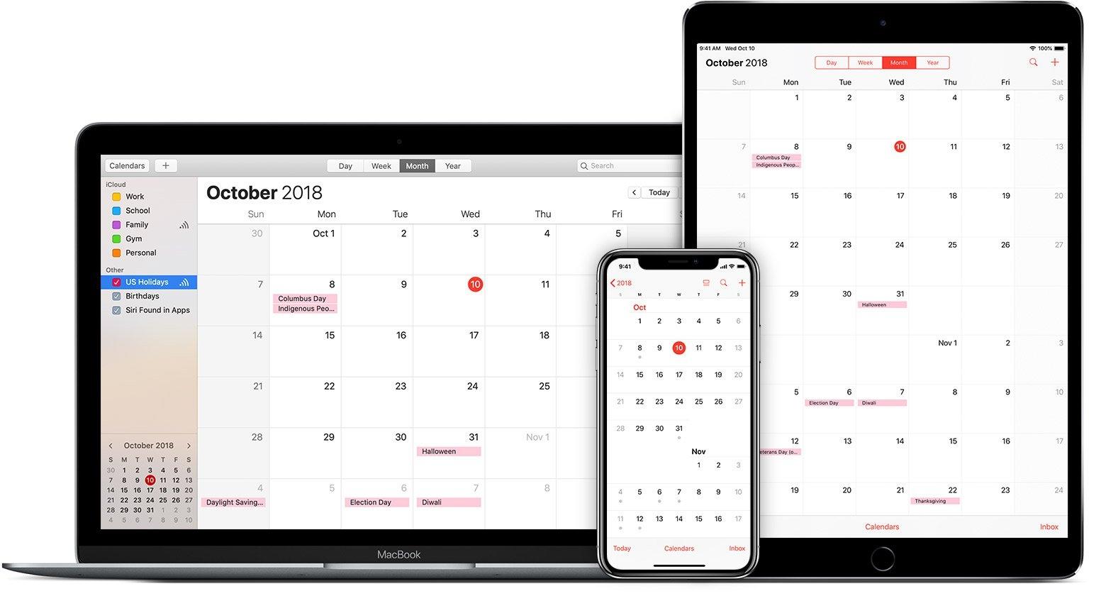 Use Icloud Calendar Subscriptions – Apple Support Calendar 2019 On My Iphone