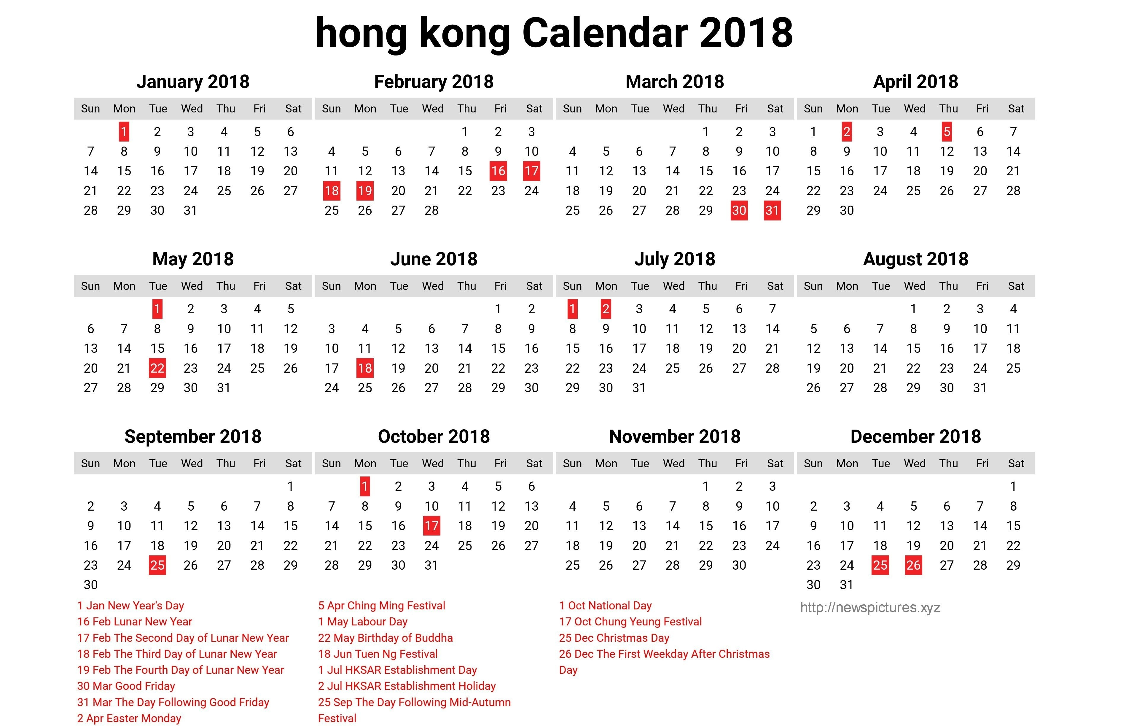 Year 2019 Calendar Hong Kong Hk – Littledelhisf Calendar 2019 Hong Kong