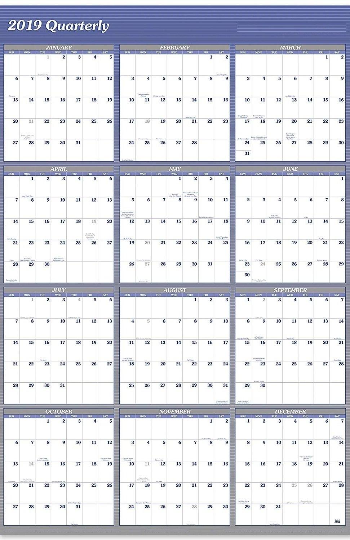 Year At A Glance Calendar 2019 Staples – Free Calendar Templates Calendar 2019 Staples