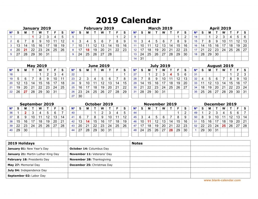 Yearly Usa Holidays Calendar 2019 Printable - Free March 2019 Calendar 2019 Usa
