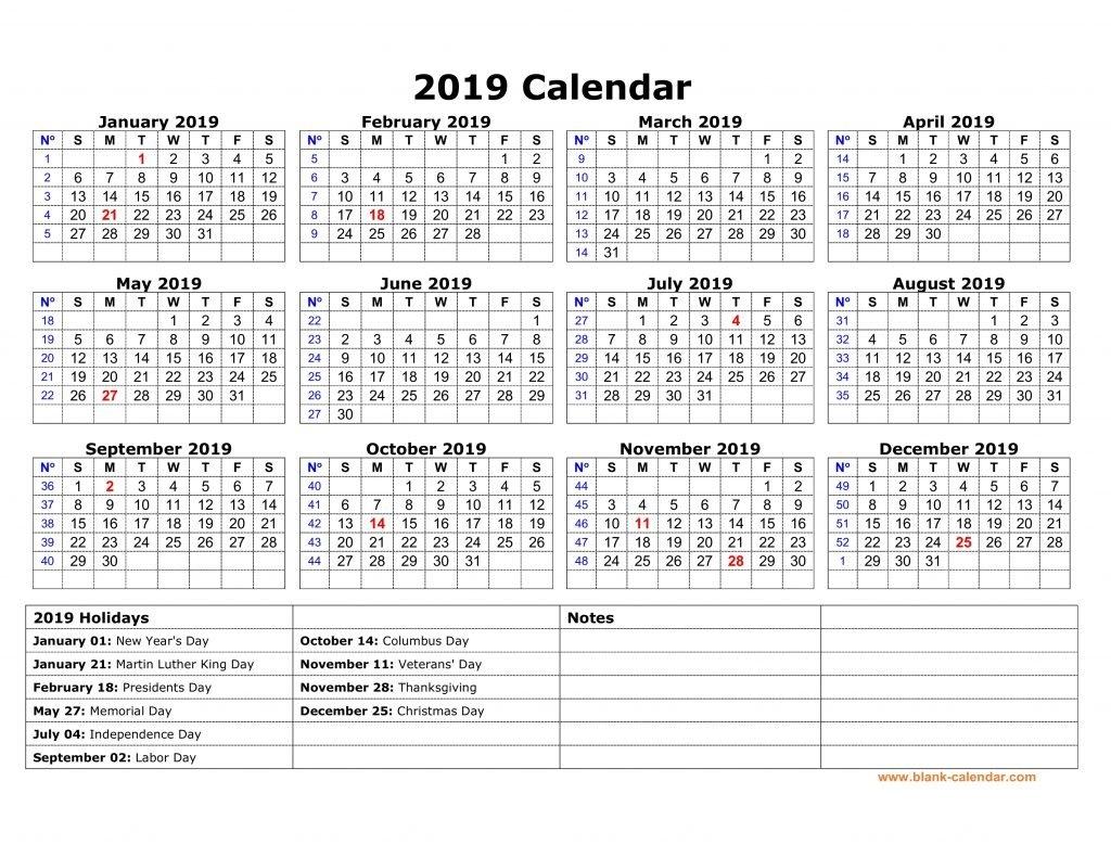 Yearly Usa Holidays Calendar 2019 Printable – Free March 2019 Calendar 2019 With Holidays Usa