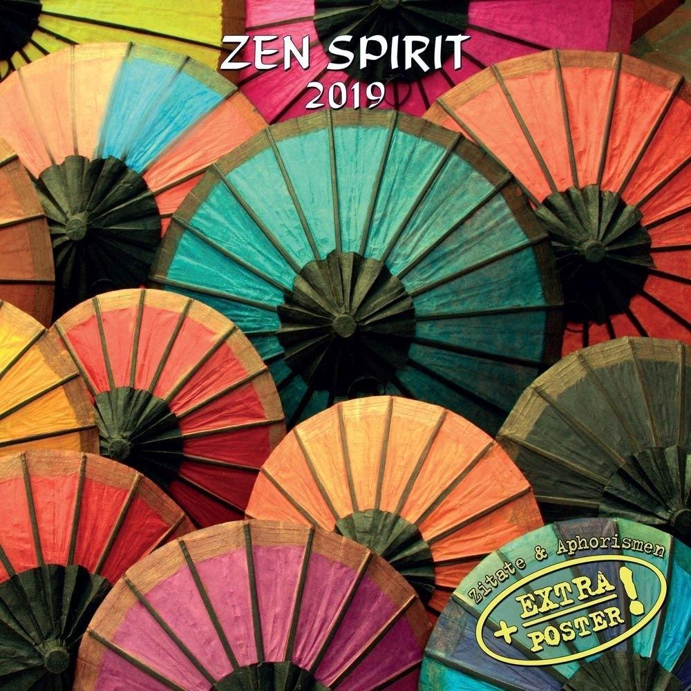 Zen Spirit 2019 Wall Calendar Calendars Books & Gifts 2019 Calendar Zen